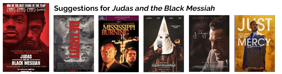 Jadas and the Black Messiah suggestions