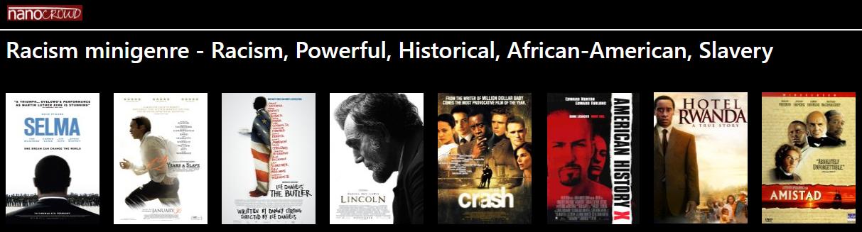 Racism mini-genres